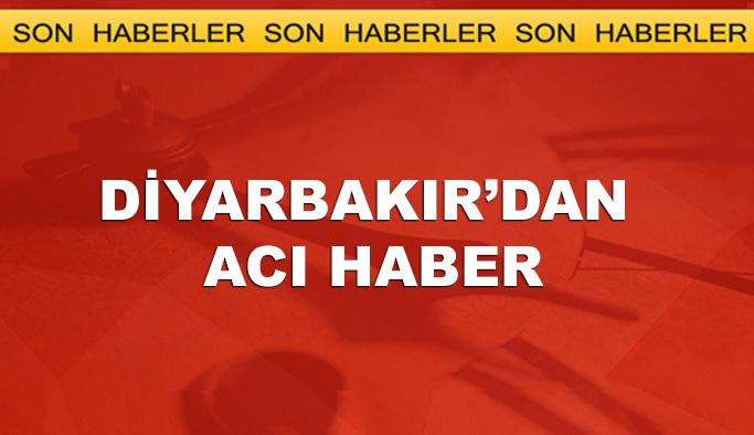 Diyarbakır'dan acı haber, 1 şehit
