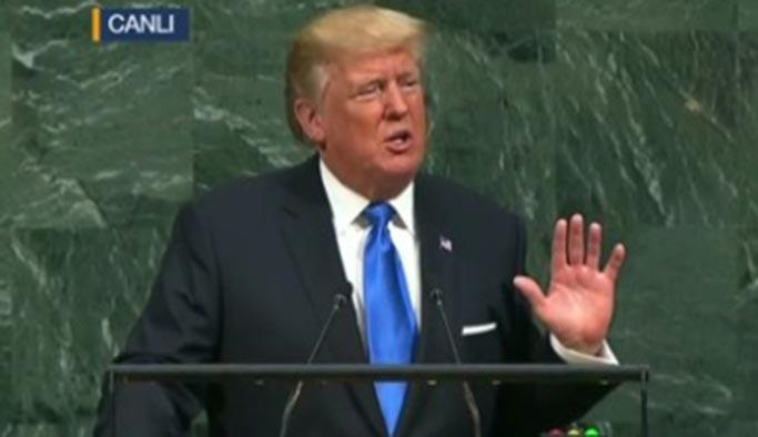 Trump BM Genel Kurulu'nda Türkiye'ye teşekkür etti