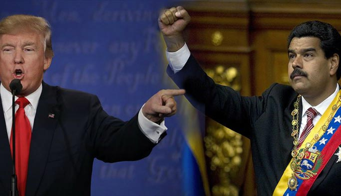 Donald Trump, Maduro'yu ölümle tehdit etti