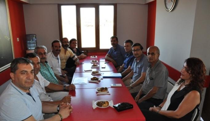 DTO, Didim CHP'yi ziyaret etti