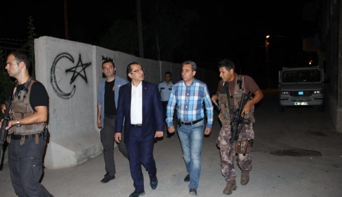 Emniyet Müdürü Selami Yıldız, vatandaşlarla bir araya geldi