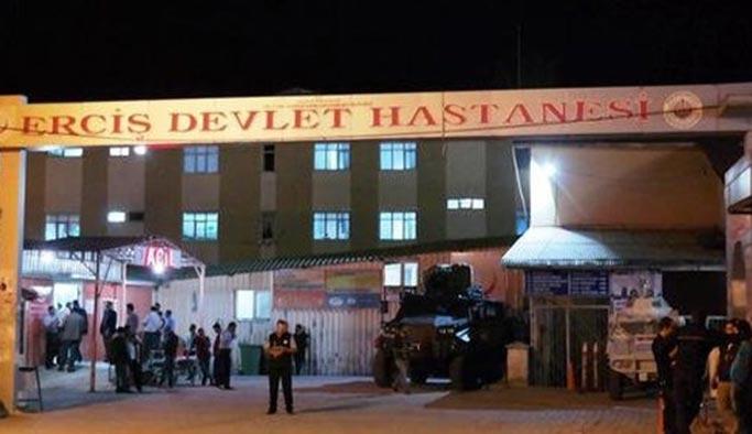Erciş'te aileler birbirine girdi, ortalık savaş alanına döndü