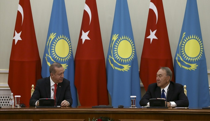 Erdoğan: Aksakal'ımızın verdiği destek için teşekkür ediyorum