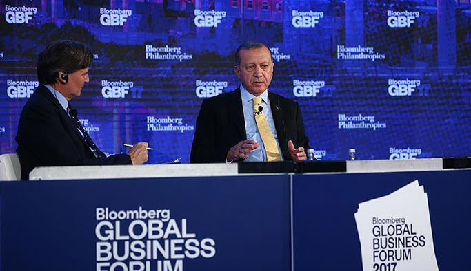 Erdoğan kritik görüşme öncesi ABD'yi sert ifadelerle eleştirdi