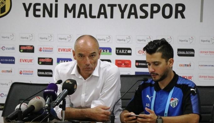 E.Y. Malatyaspor - Bursaspor maçının ardından