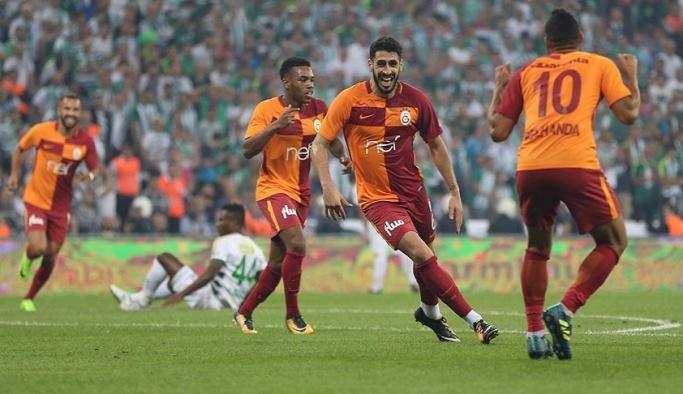 Galatasaray, Bursa'dan galibiyetle döndü