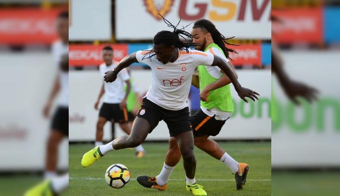 Galatasaray, Antalyaspor maçı hazırlıklarını sürdürdü