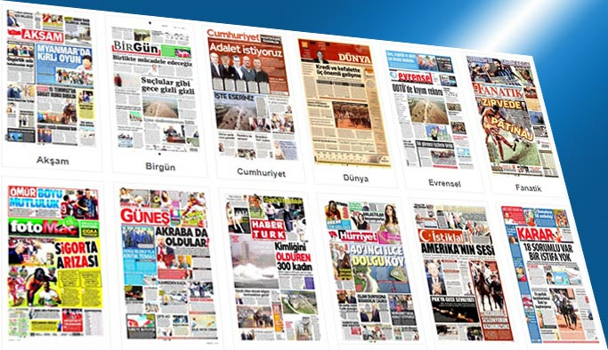 Gazetelerin bugünkü manşetleri 11 Eylül 2017