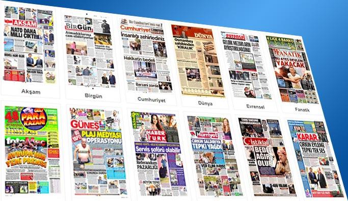 Gazetelerin bugünkü manşetleri 15 Eylül 2017