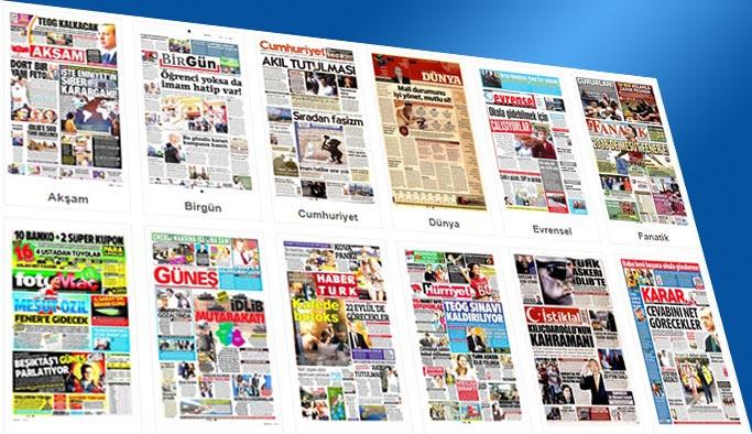 Gazetelerin bugünkü manşetleri 16 Eylül 2017