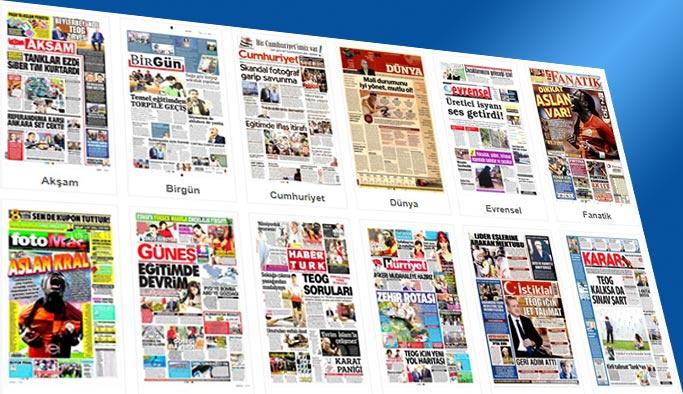 Gazetelerin bugünkü manşetleri 17 Eylül 2017