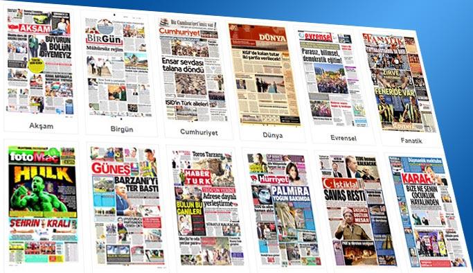 Gazetelerin bugünkü manşetleri 18 Eylül 2017