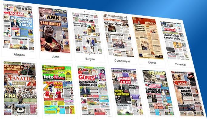 Gazetelerin bugünkü manşetleri 20 Eylül 2017