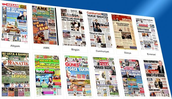 Gazetelerin bugünkü manşetleri 26 Eylül 2017