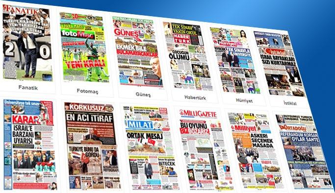 Gazetelerin bugünkü manşetleri 27 Eylül 2017