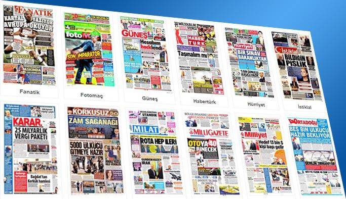 Gazetelerin bugünkü manşetleri 28 Eylül 2017