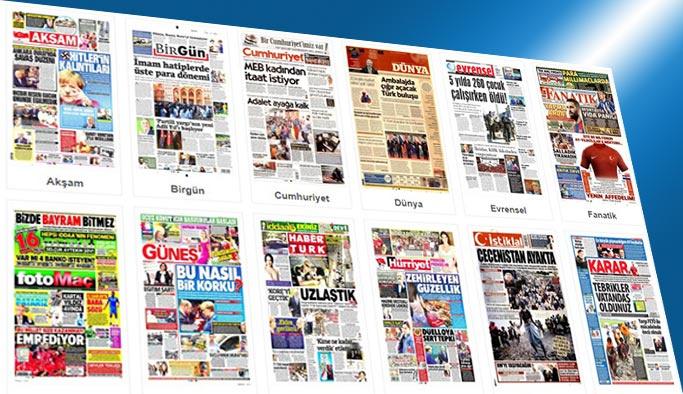 Gazetelerin bugünkü manşetleri 5 Eylül 2017