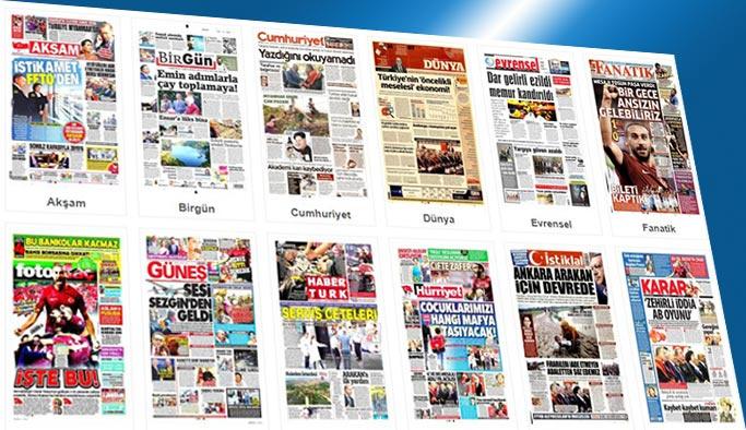 Gazetelerin bugünkü manşetleri 6 Eylül 2017
