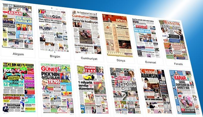 Gazetelerin bugünkü manşetleri 7 Eylül 2017