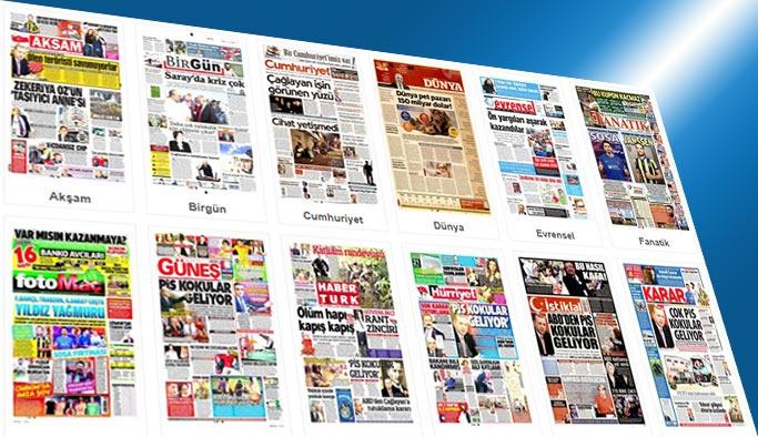 Gazetelerin bugünkü manşetleri 9 Eylül 2017