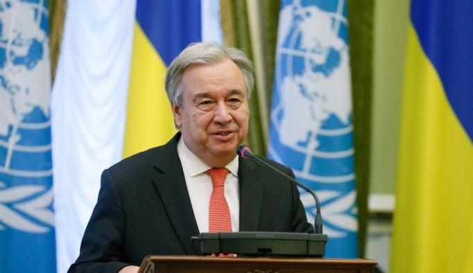Guterres'ten Myanmar açıklaması
