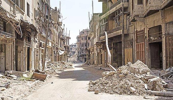 Şehirler güzeli Halep'ten geriye sadece bir 'enkaz' kaldı
