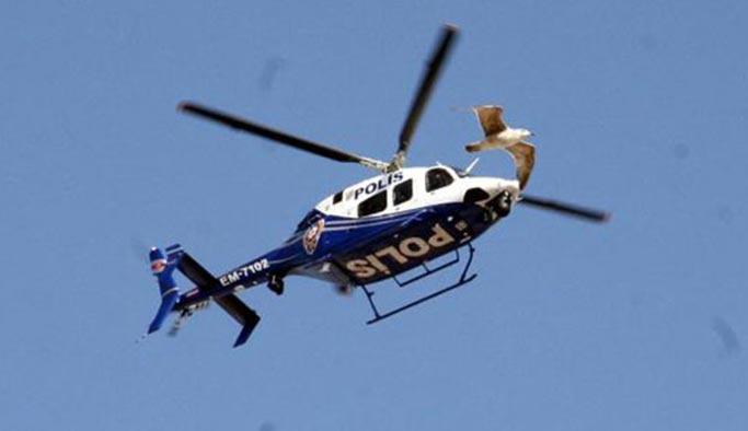 Helikopter polislere çarptı, bir şehit