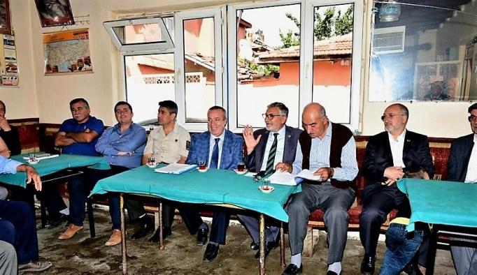 İnönü'de halk toplantısı gerçekleşti