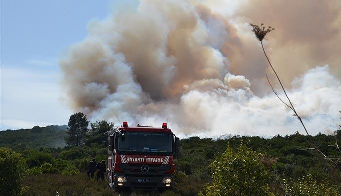 İstanbul'da kışlada yangın