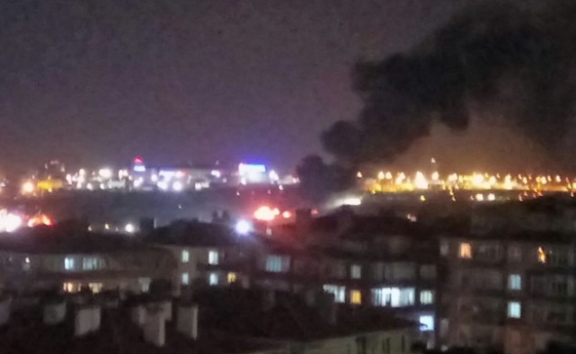 İstanbul'da düşen uçak özel bir jet çıktı VIDEO