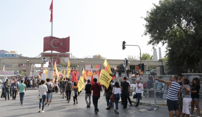 İstanbul Emek ve Demokrasi Koordinasyonu'ndan miting