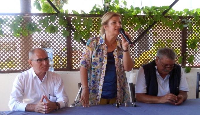İstanbul'dan gelip Ayvalık'ın çevre sorunlarını masaya yatırdılar