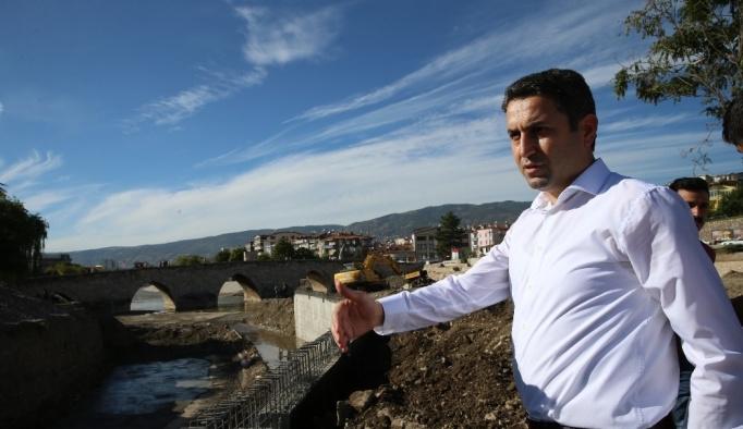Kanal Tokat projesinin 1. Etabı yüzde 98 oranında tamamlandı