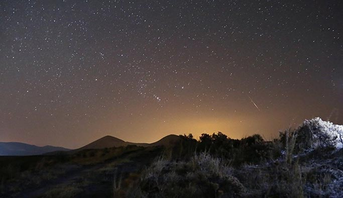 Kars'a meteor düştüğü iddia ediliyor