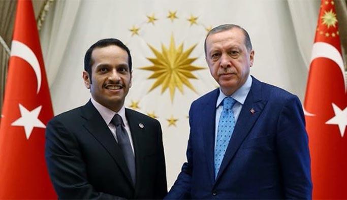 Katar Dışişleri Bakanı Sani Ankara'da