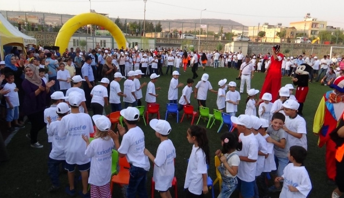 Kilis'te Çocuk Festivali düzenlendi