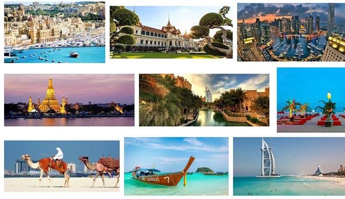 Kışın gidilecek sıcak ülkeler – tatil yerleri