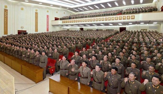 Kuzey Kore'den savaş yemini