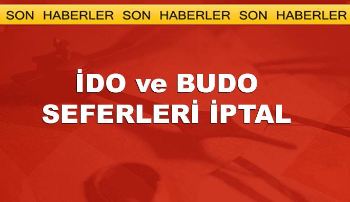 Marmara'ya sis çöktü, İDO ve BUDO seferleri iptal