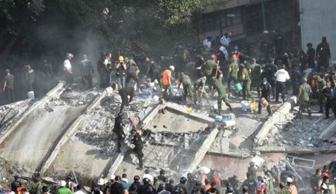 Meksika'daki depremde ölenlerin sayısı 273'e yükseldi