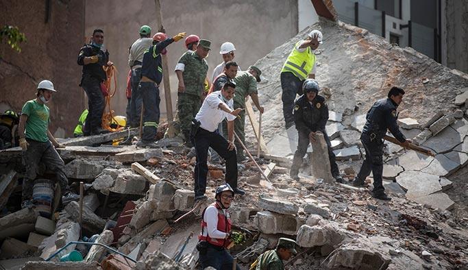 Meksika'yı vuran depremde son durum