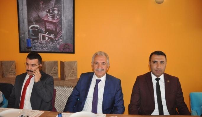 Milletvekili Beyribey ve İl Başkanı Çalkın basınla buluştu