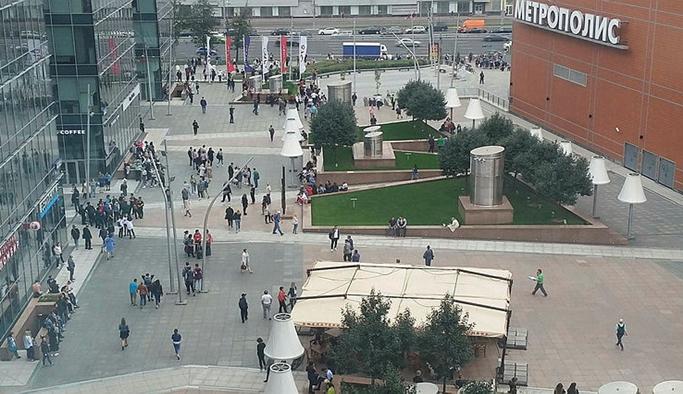 Moskova'da bomba alarmı, 20 bin kişi tahliye edildi
