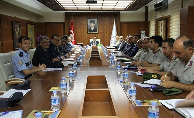 Nevşehir'de güvenlik ve asayiş toplantısı yapıldı