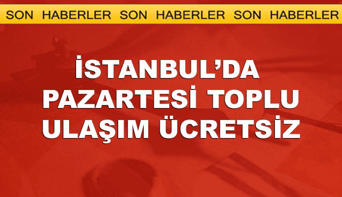 Okulların ilk günü İstanbul'da ulaşım ücretsiz