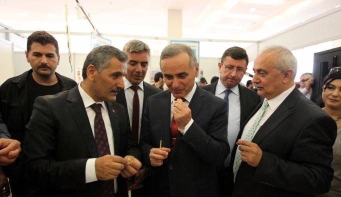 ÖMÜ Ziraat Fakültesi altın çilek ve bal üretimine öncülük edecek