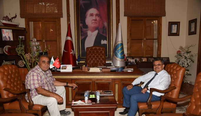 OSB Yönetim Kurulu Başkanı Arslan, Başkan Yağcı'yı ziyaret etti