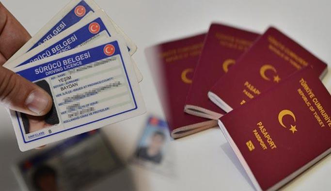 Pasaport ve ehliyet için Emniyet'e gitmeye son