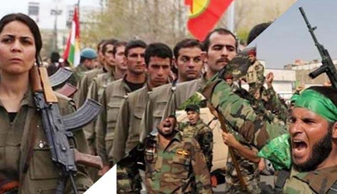 PKK ile Haşdi Şabi birbirine girdi: Ölü ve yaralılar var