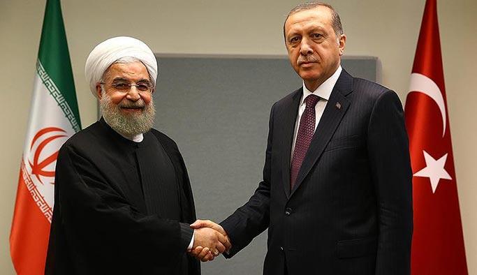 Referanduma saatler kala Erdoğan ile Ruhani arasında sürpriz görüşme